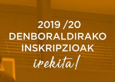 Inscripcion 2019-20
